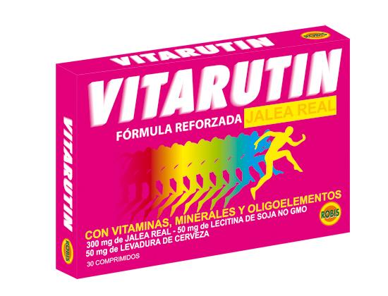 VITARUTIN, JALEA REAL 30 COMPRIMIDOS 570MG ROBIS