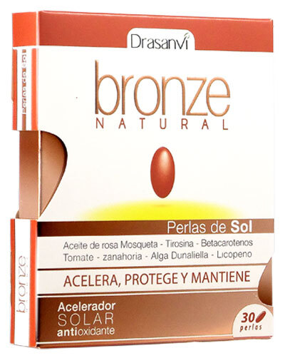 COMPRAR BRONZE NATURAL PERLAS DE SOL ACELERADOR ANTIOXIDANTE DRASANVI