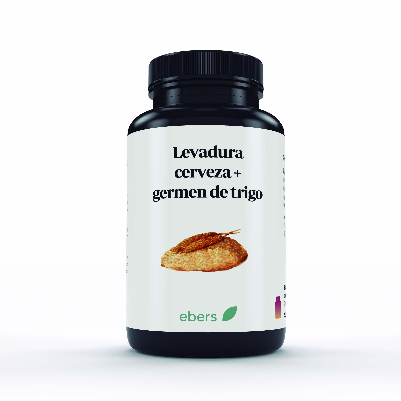 LEVADURA DE CERVEZA+GERMEN DE TRIGO 100 COMPR 600 MG