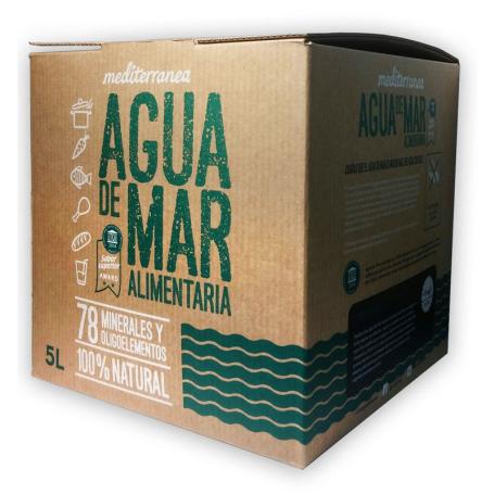 MEDITERRANEA AGUA DE MAR ALIMENTARIA 5L