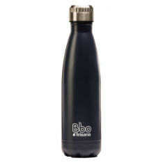 BOTELLA BBO TERMO ACERO INOXIDABLE 750ML AZUL+ FUNDA IRISANA