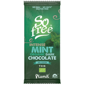 SO FREE CHOCOLATE MENTA VEGANO 60% BIO 80GR