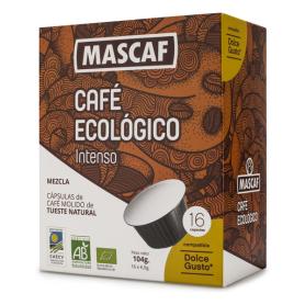 BIO CAFÉ CÁPSULA INTENSO 50 g  (16 Cáps. Dolce Gusto)