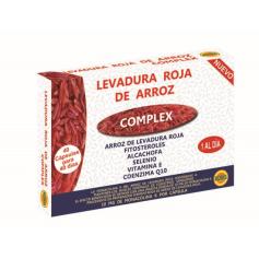 LEVADURA ROJA DE ARROZ 500MG 40CAPS