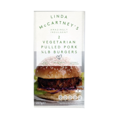 CONGELADO PULLED PORK 1/4 LIBRA BURGER Linda McCartney 227 gr
