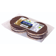 TORTITAS DE ARROZ CHOCOLATE NEGRO BIO 100 GR