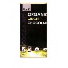 chocolate jengibre bio plamil 100 gr