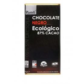 chocolate negro 87 bio plamil 95gr