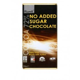 chocolate sin azucar plamil 100gr