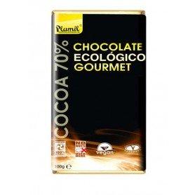 chocolate gourmet ecologio 100 gr plamil