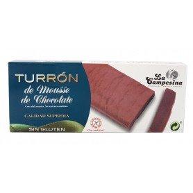 turron mousse de chocolate 200 gr