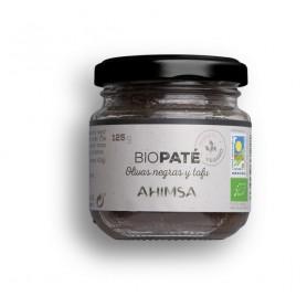 promocion pate tofu olivas negras bio tarro 125gr