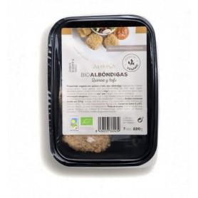 refrig albondiga quinoa y tofu bio 220gr