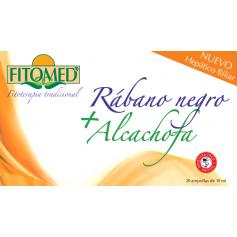 fitomed rabano negro y alcachofa 20amp