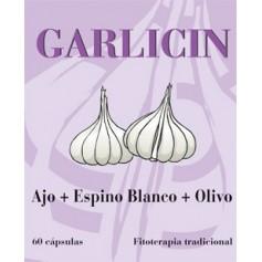 garlicin 60 caps ajo olivo esp blanco