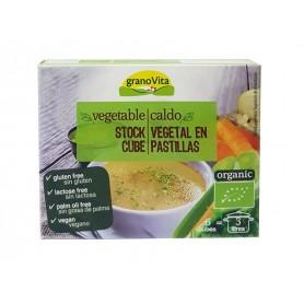 caldo vegetal en pastillas bio 6 cub 66gr