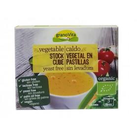 caldo vegetal sin levadura bio 6 cub 66gr