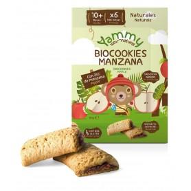 galletas biocookies manzana 150 gr y 10meses