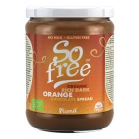 so free chocolate vegano de untar naranja ecologico 275g
