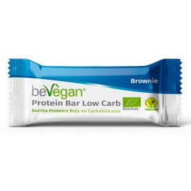 bevegan barritas proteica brownie baja en carbohidratos 35 gr