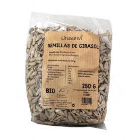 semilla girasol bio 250gr drasanvi