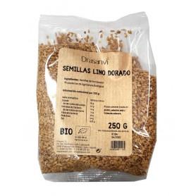 semilla lino dorado bio 250gr drasanvi