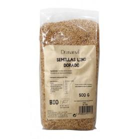 semilla lino dorado bio 500gr drasanvi