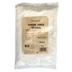harina arroz integral bio 500gr drasanvi