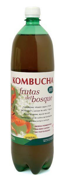 TE KOMBUCHA FRUTAS DEL BOSQUE BIO 1 5L GRANOVITA en Biovegalia