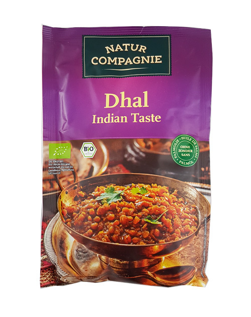 DHAL INDIAN BIO AL CURRY 150GR NATUR COMPAGNIE en Biovegalia