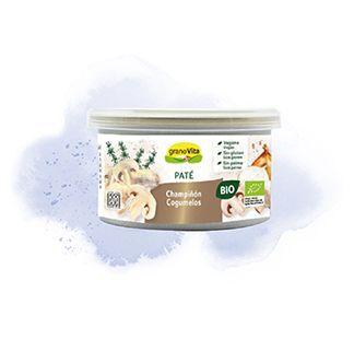 PATE CHAMPIÑON GIRASOL BIO 125GR GRANOVITA en Biovegalia