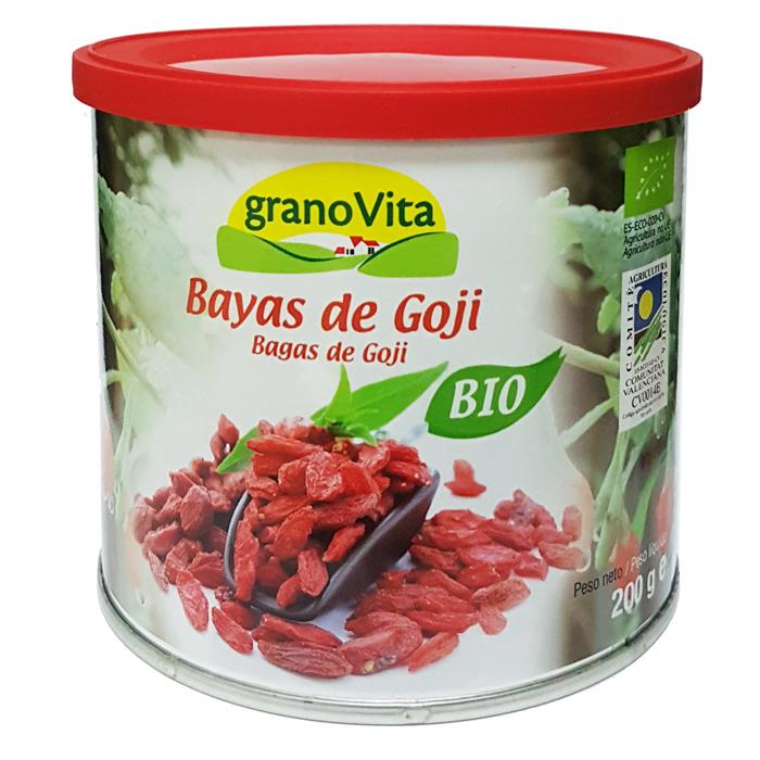 BAYAS DE GOJI BIO 200GR GRANOVITA en Biovegalia