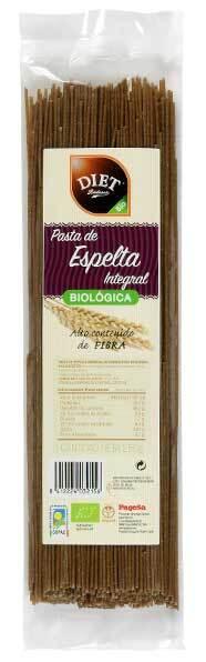 SPAGHETTI ESPELTA INT  BIO 250GR DIET RADISSON en Biovegalia