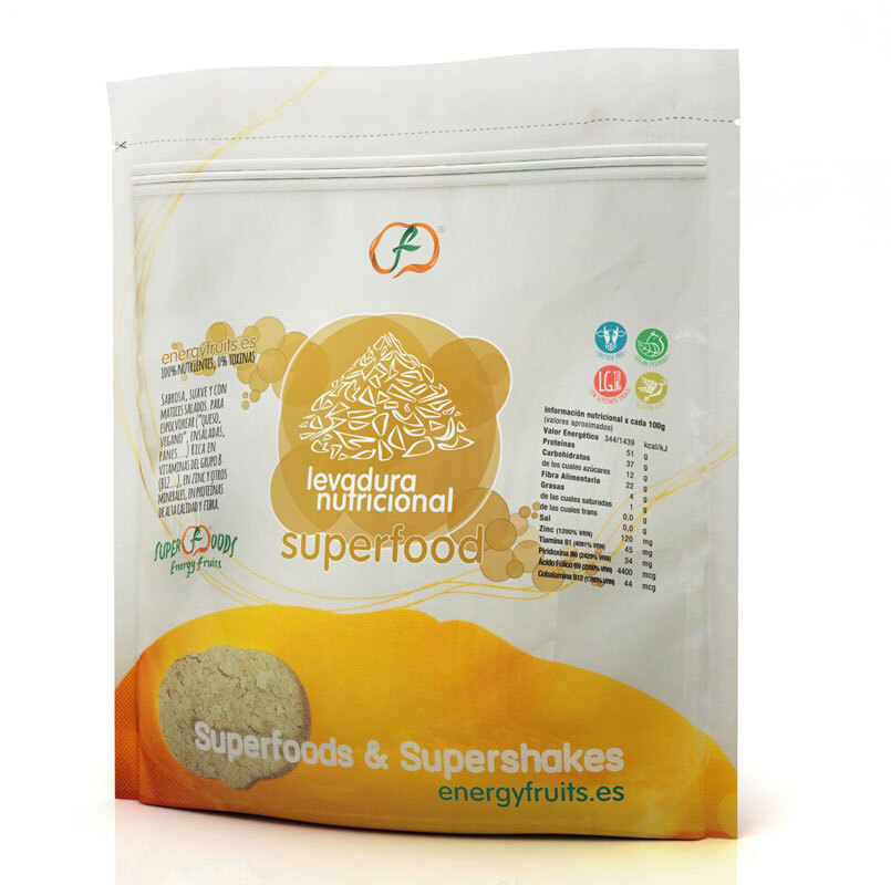 LEVADURA NUTRICIONAL CON B12 250 GR ENERGYFRUITS en Biovegalia