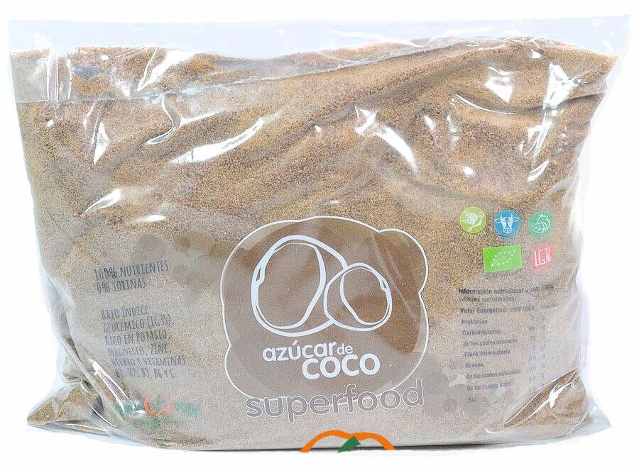 AZUCAR DE COCO ECO 1KG ENERGYFRUITS en Biovegalia