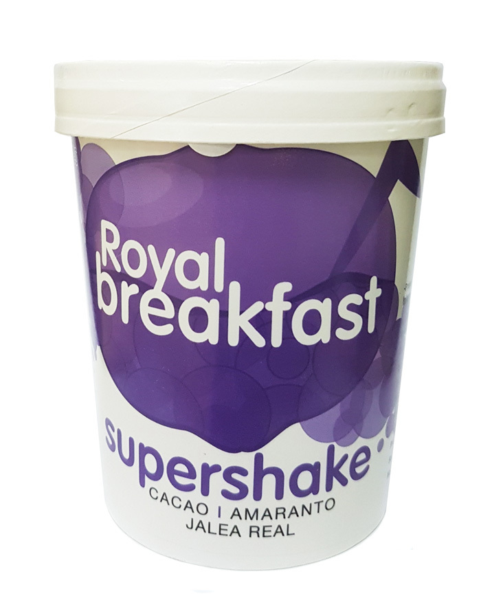 ROYAL BREAKFAST ECO TARRINA 250 GR ENERGYFRUITS en Biovegalia