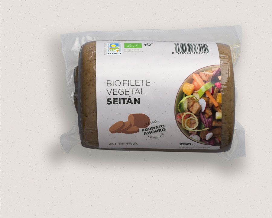 REFRIG FILETE VEGETAL SEITAN BIO FAM 750G