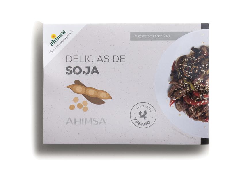 DELICIAS SOJA BIO LD 250GR AHIMSA en Biovegalia