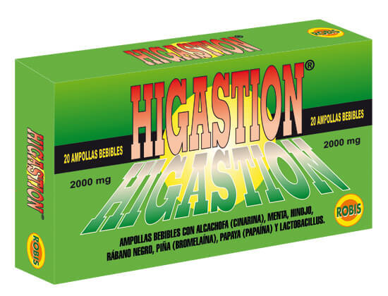 HIGASTION 20 AMP 10ML
