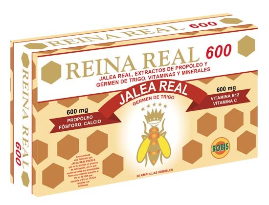 REINA REAL 600 20 AMP 10ML