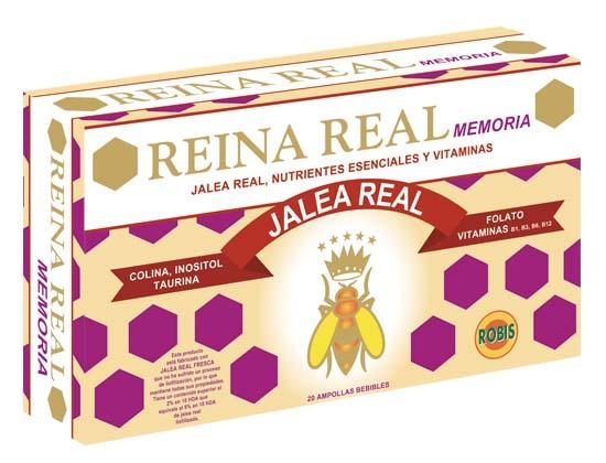 REINA REAL MEMORIA 20 AMP 10ML ROBIS en Biovegalia