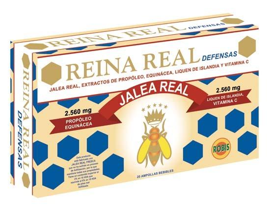 REINA REAL DEFENSAS 20 AMP 10ML