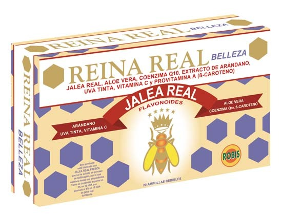 REINA REAL BELLEZA 20 AMP 10ML