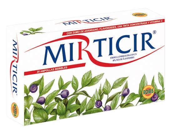 MIRTICIR NUEVA FORM   20 AMP 10ML. ROBIS en Biovegalia