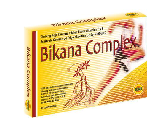 BIKANA COMPLEX 30 COMP 500MG ROBIS en Biovegalia