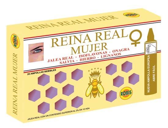 REINA REAL MUJER 20 AMP 10ML