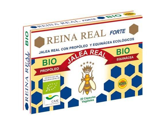 REINA REAL BIO FORTE 20CAPS ROBIS en Biovegalia