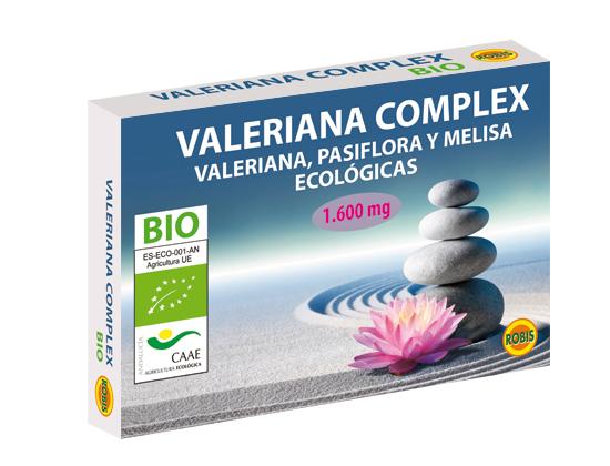 VALERIANA COMPLEX BIO 60COMP ROBIS en Biovegalia