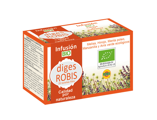 DIGES ROBIS (DIGESTIVO) BIO 20 INF 1 4G ROBIS en Biovegalia