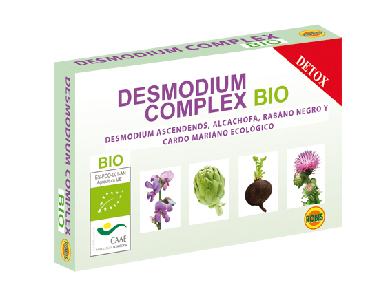 DESMODIUM COMPLEX BIO 405MG 60COMP ROBIS en Biovegalia